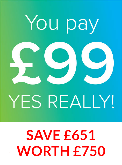 SAVE £651 WORTH £750