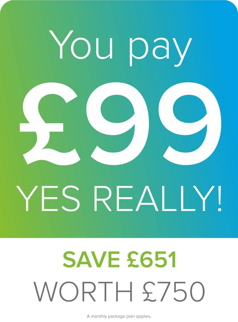 you pay £99 save 651